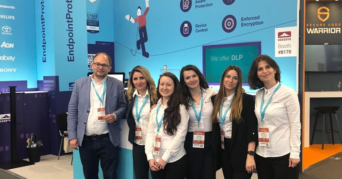 Endpoint Protector Showcased at Infosecurity Europe 2019