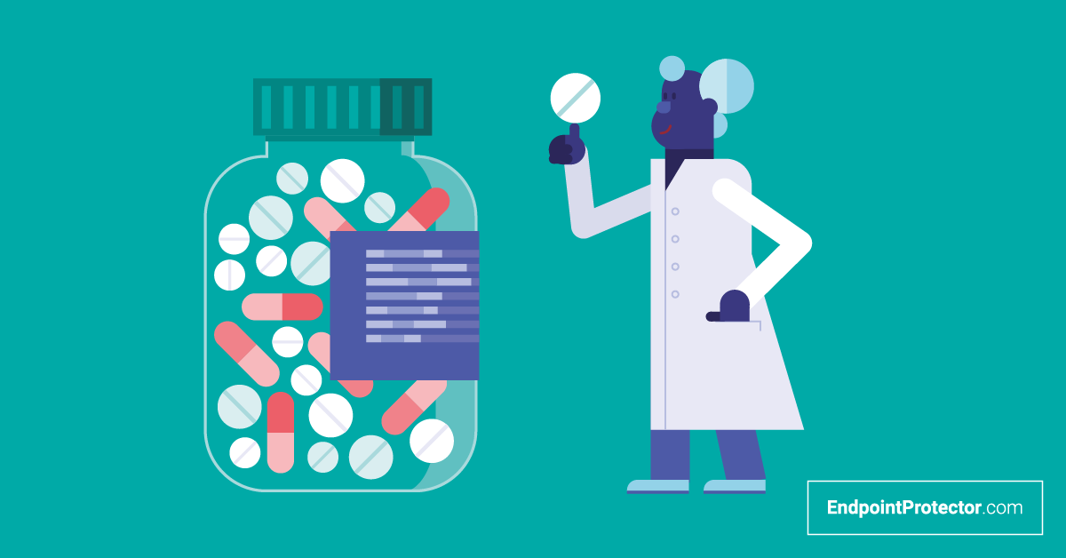 Como o DLP ajuda as empresas farmacêuticas a proteger seus dados